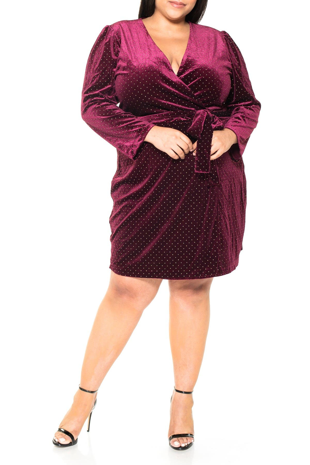 Image of Alexia Admor Amelia Wrap Dress