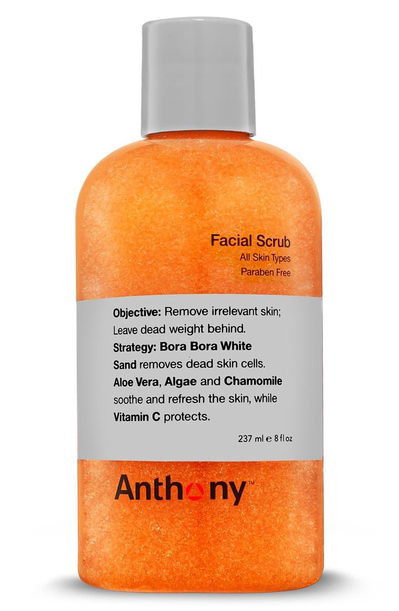 ANTHONY<SUP>™</SUP> Facial Scrub, Main, color, NO COLOR
