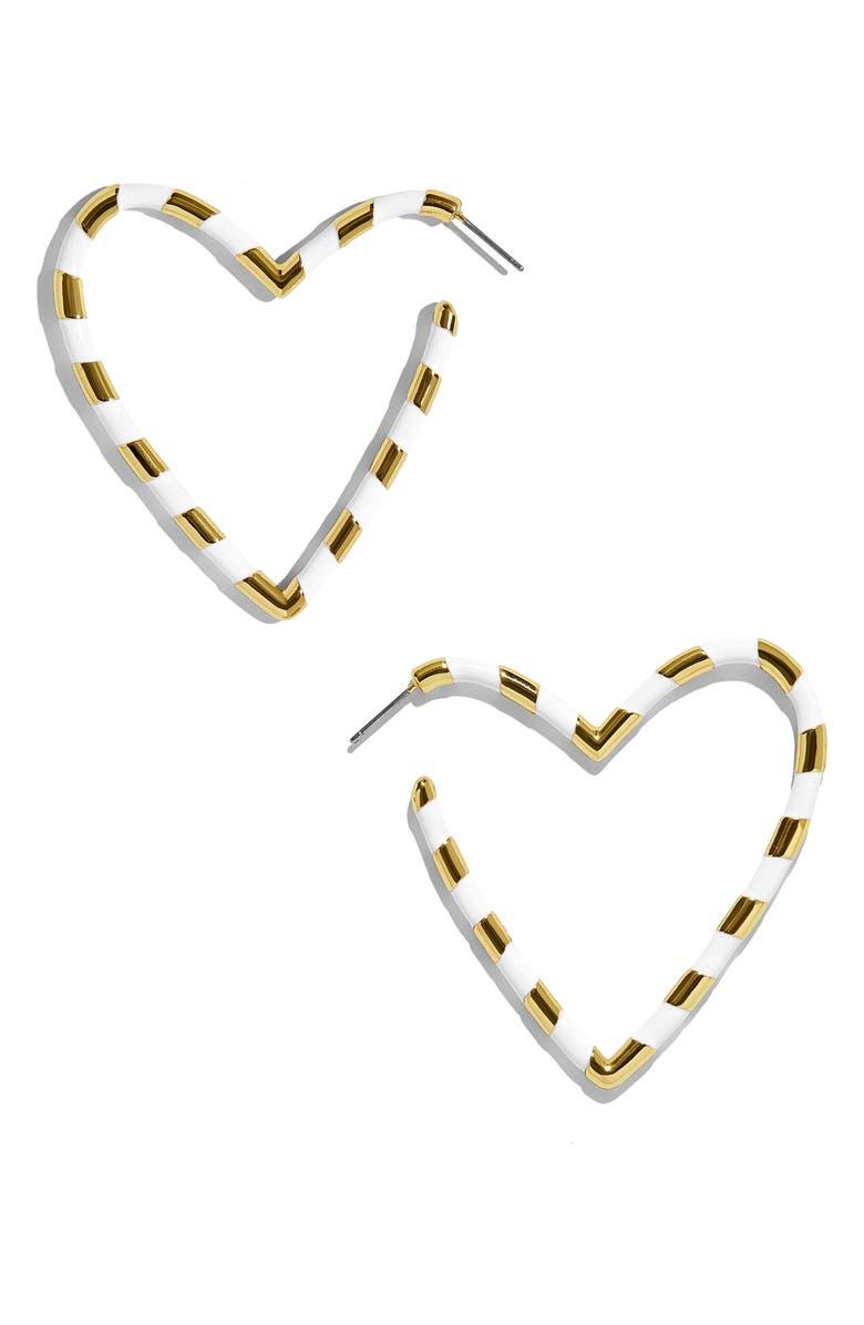 BaubleBar Annaelle Open Heart Earrings