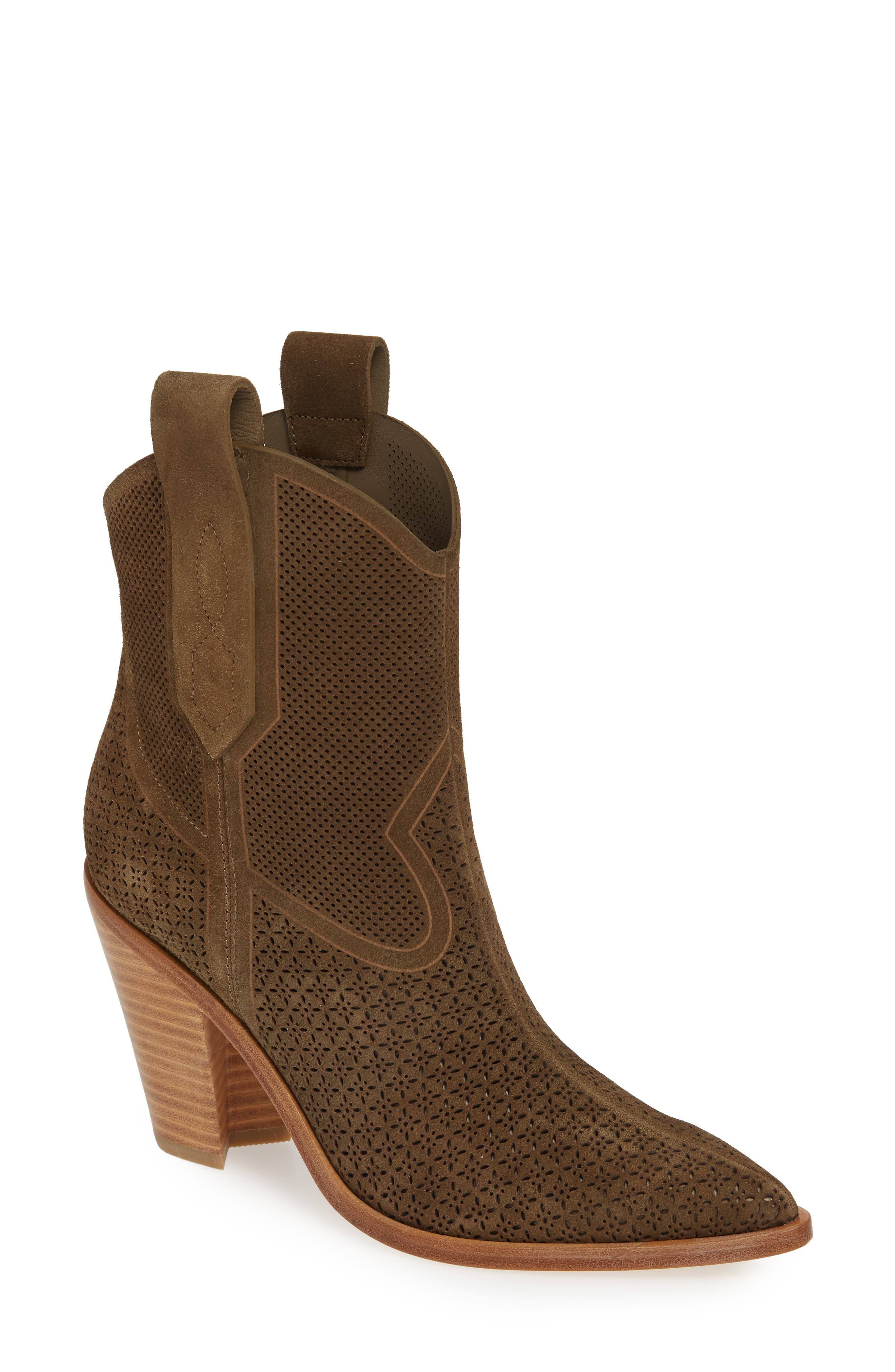 Sigerson Morrison Western Boot, Green