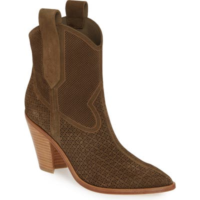Sigerson Morrison Western Boot - Green