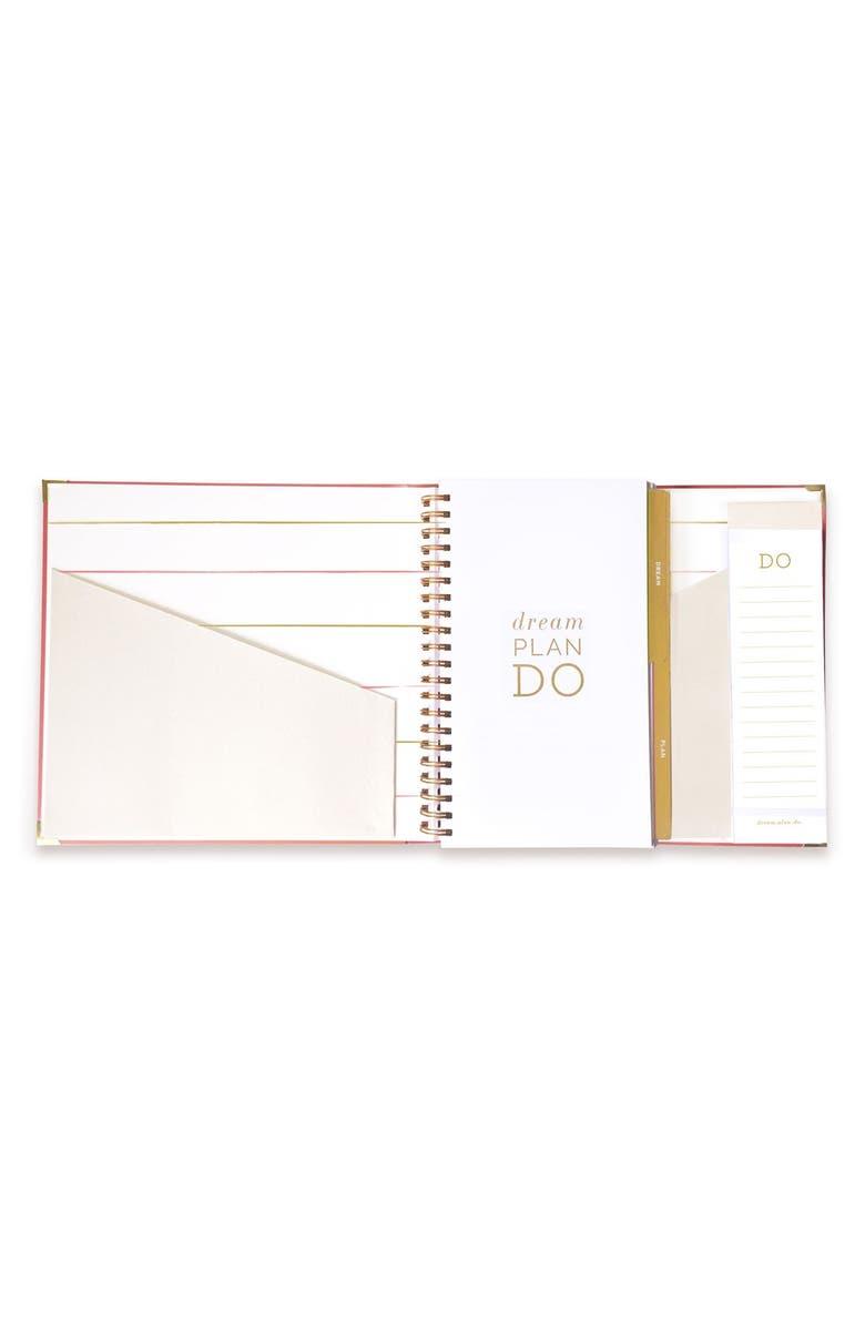 LAKE + LOFT Dream Plan Do 12-Month Desktop Agenda, Main, color, 650