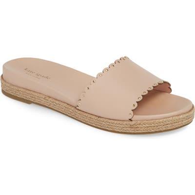 Kate Spade New York Zeena Espadrille Slide Sandal- Pink