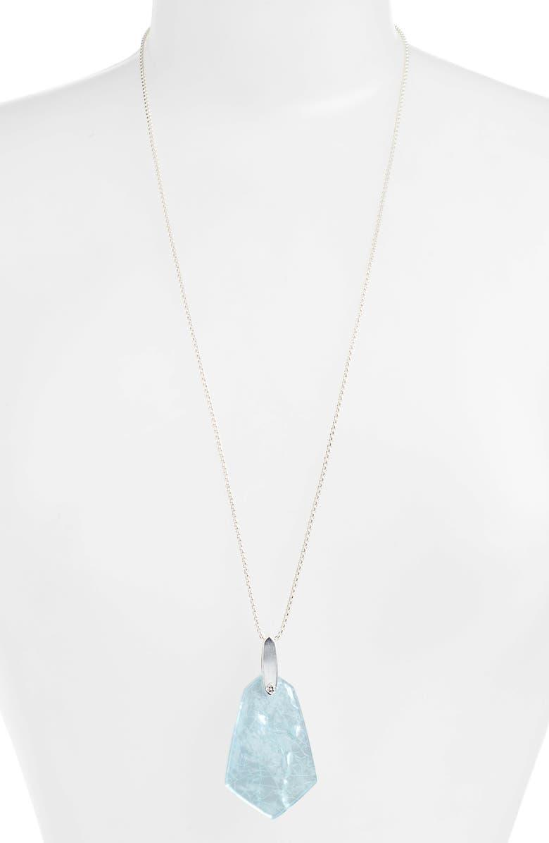 KENDRA SCOTT Cam Pendant Slider Necklace, Main, color, 400