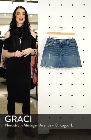 Eva Denim A-Frame Gusset Skirt, sales video thumbnail