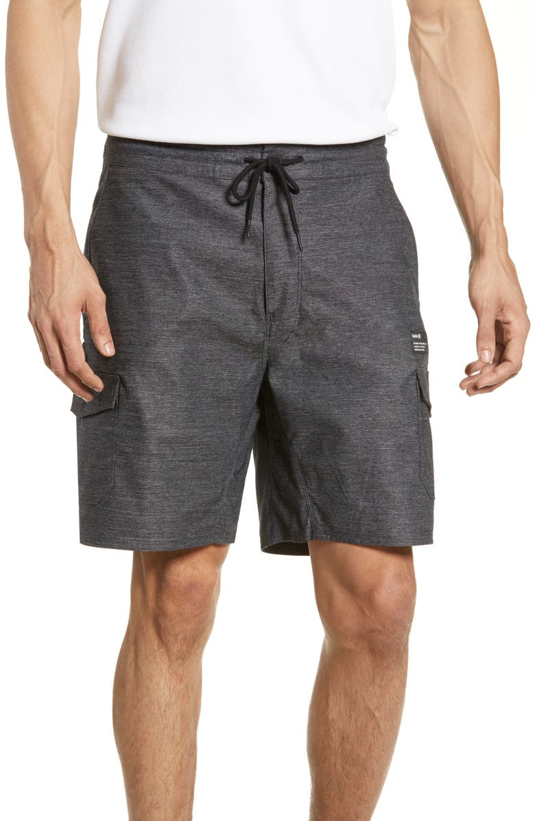 HURLEY Dri-FIT Breathe Cargo Shorts, Main, color, 010