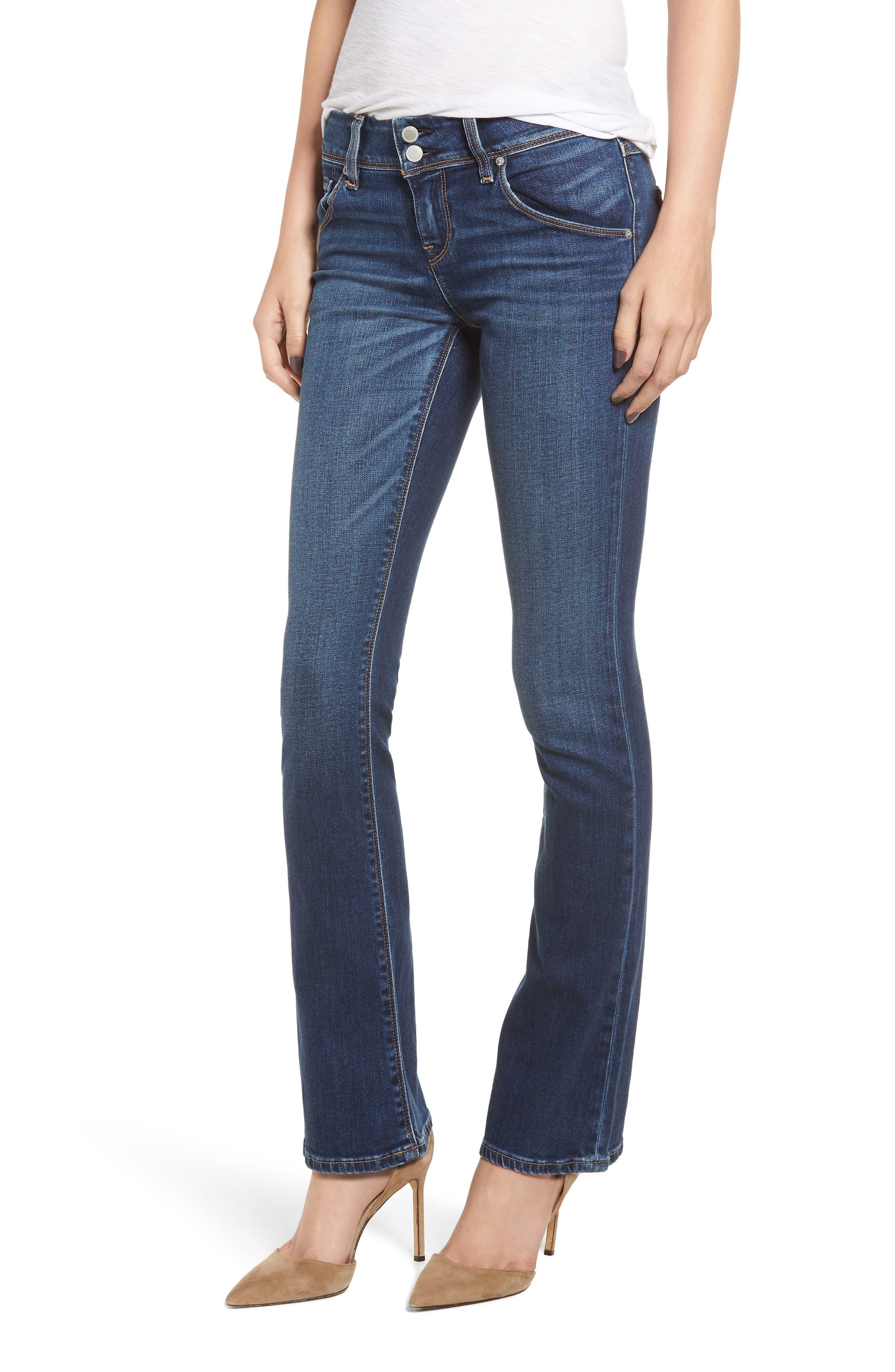 Petite Women's Hudson Jeans Beth Baby Bootcut Jeans