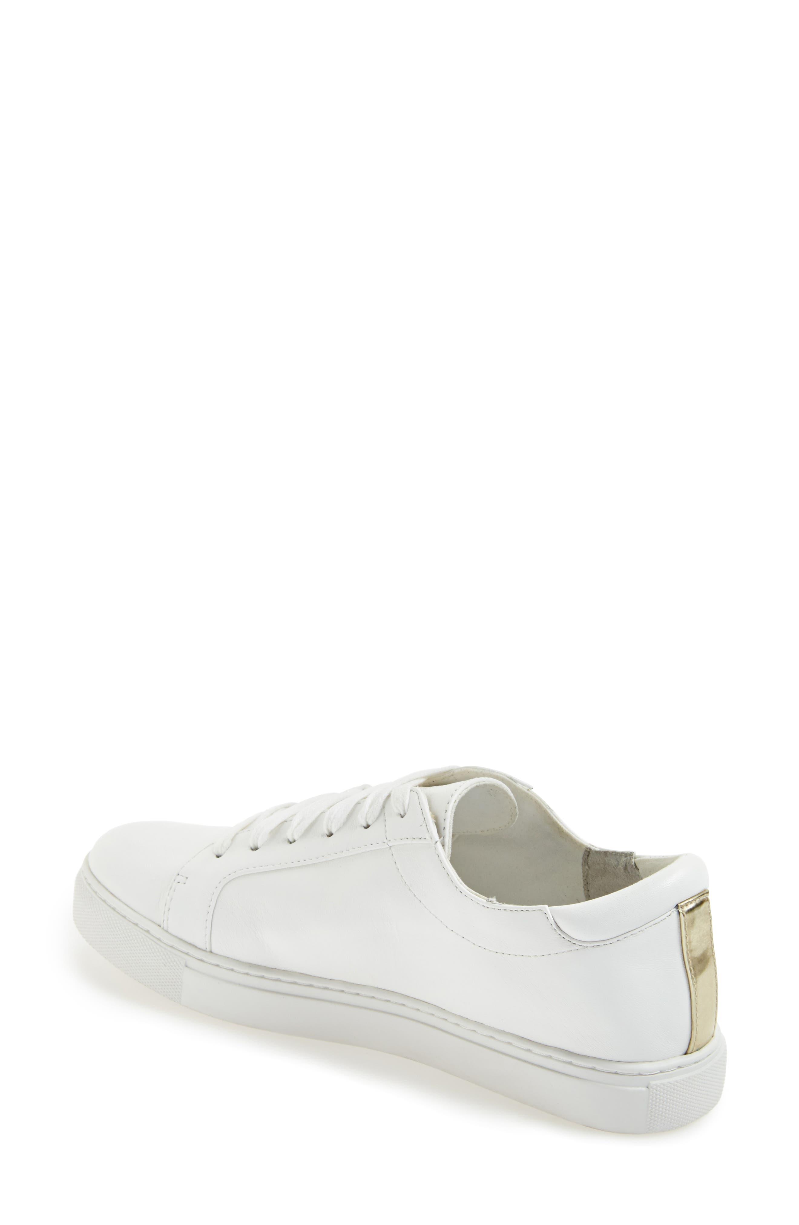 ,                             'Kam' Sneaker,                             Alternate thumbnail 5, color,                             WHITE