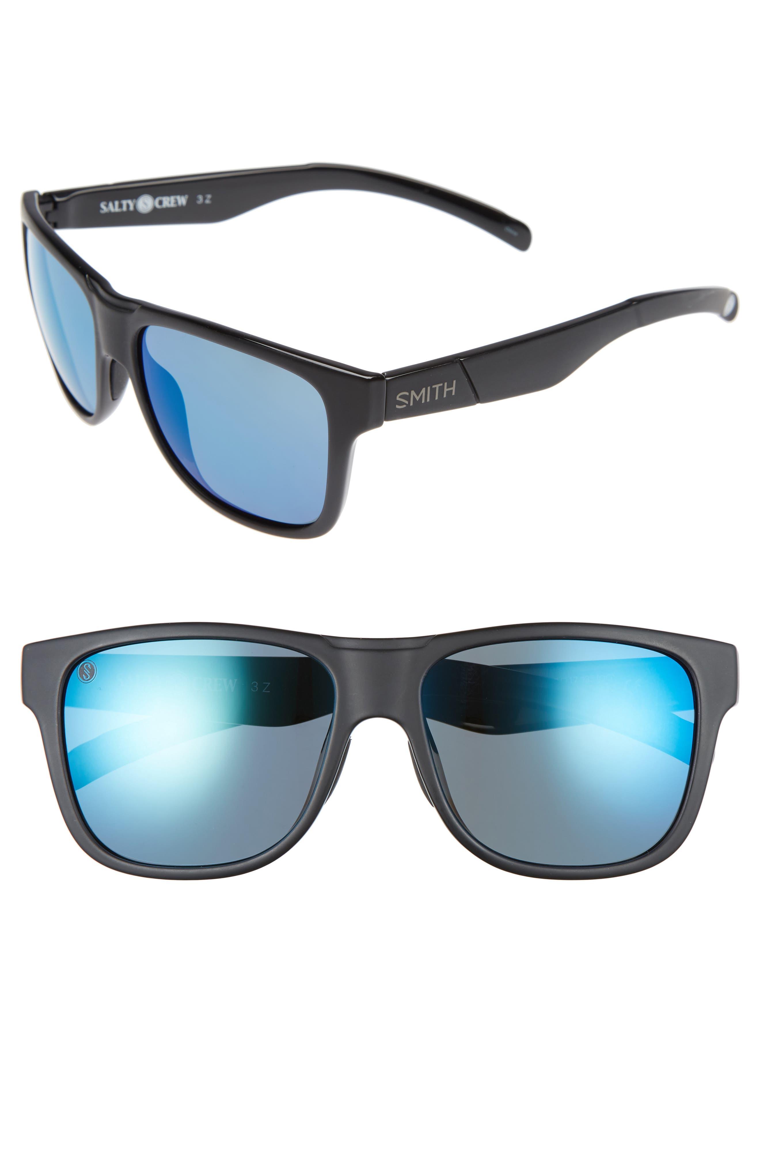 SMITH LOWDOWN XL  Designer Sunglasses with Case All Colours
