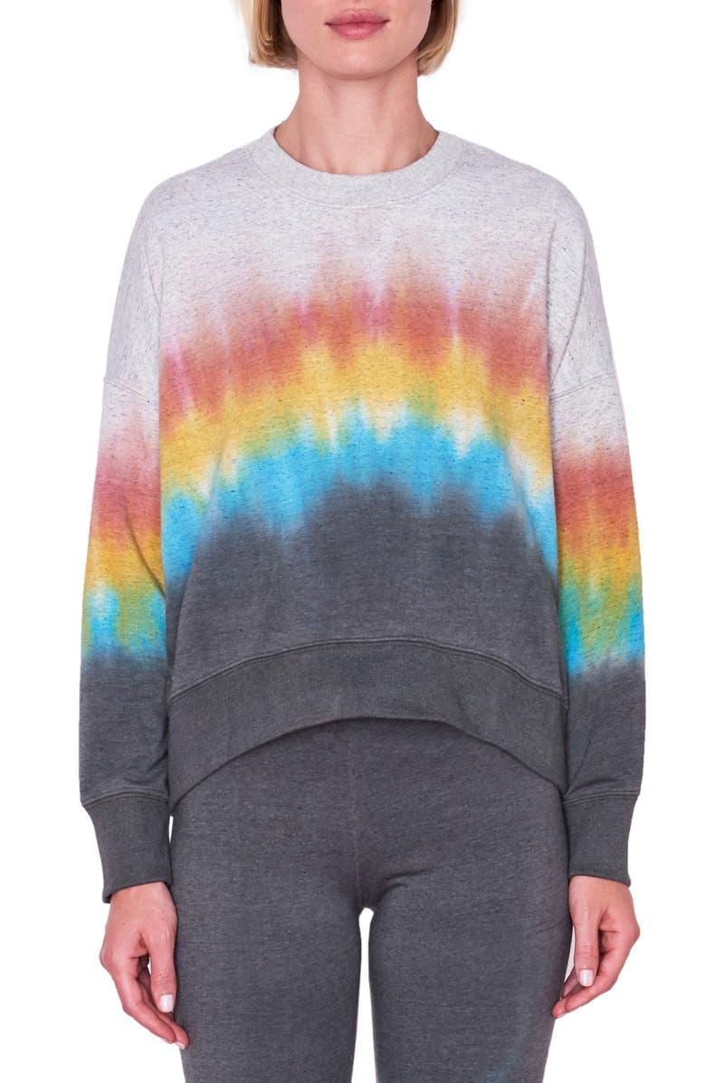 SUNDRY Gradient Oversize Sweatshirt, Main, color, 600