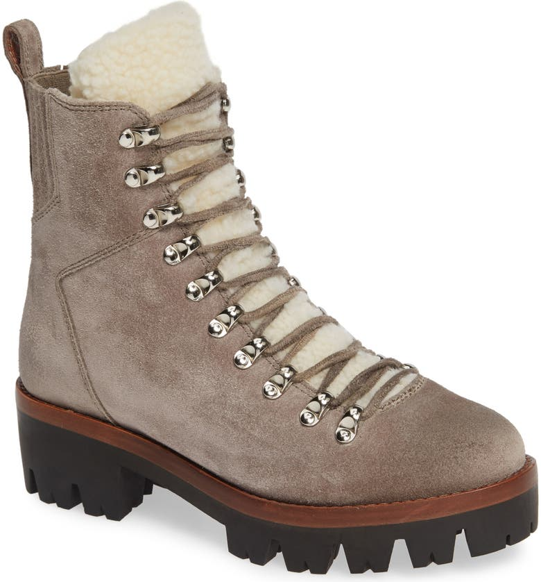 JEFFREY CAMPBELL Culvert Boot, Main, color, TAUPE SUEDE IVORY