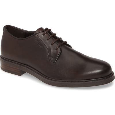Calvin Klein Fultz Plain Toe Derby, Brown