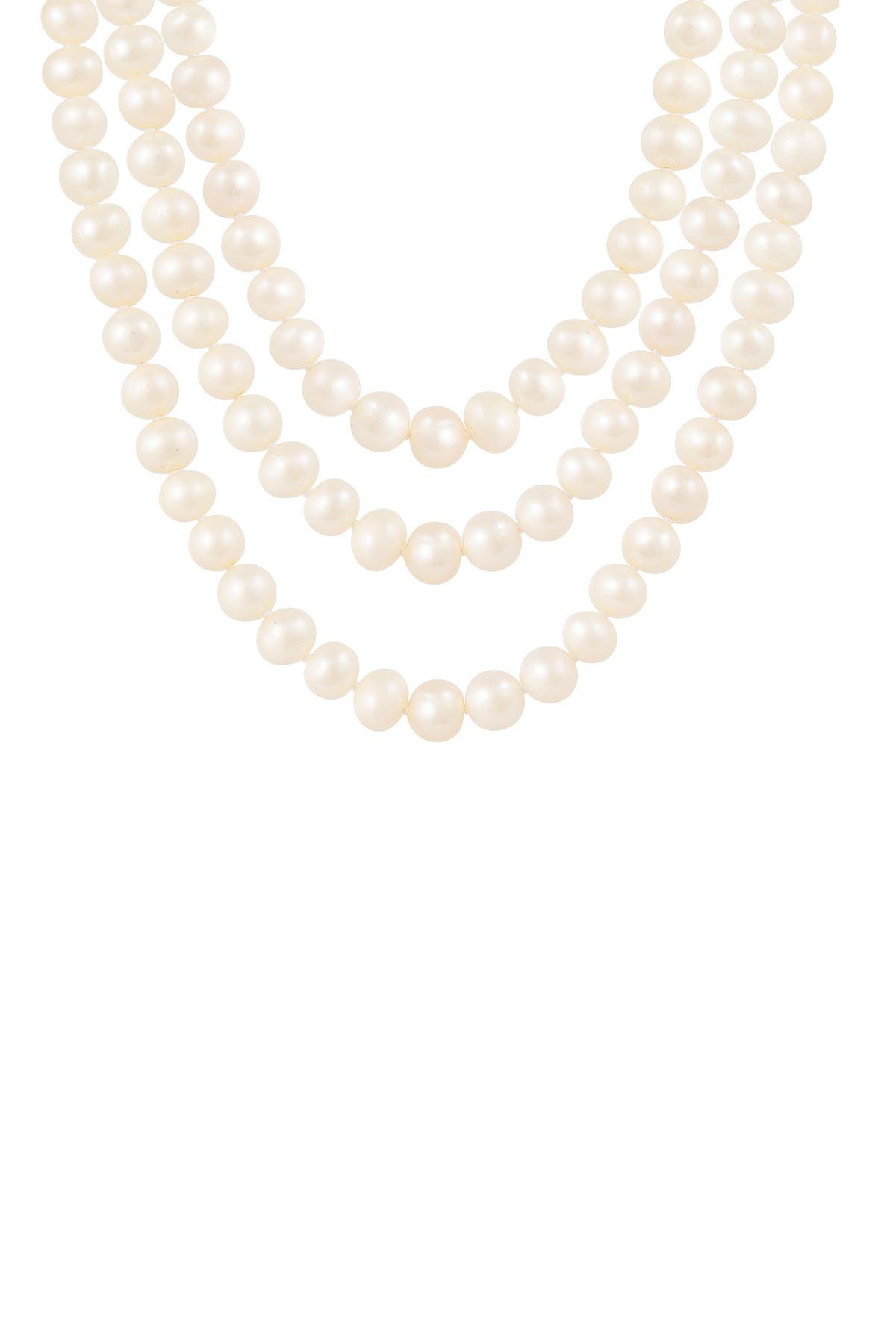 Image of Splendid Pearls Endless 8-9mm Freshwater Pearl Necklace