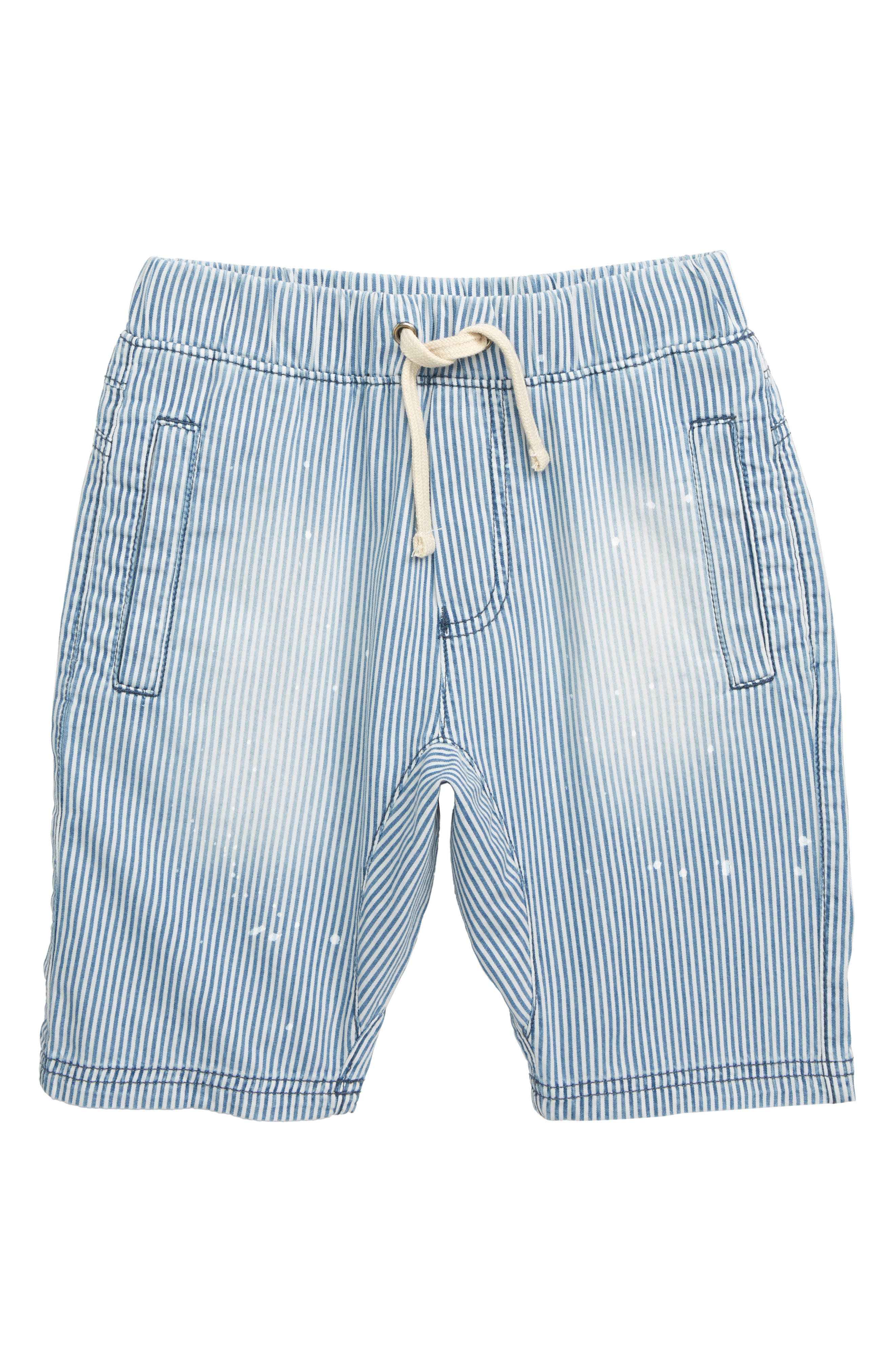 ,                             Stripe Jogger Shorts,                             Main thumbnail 1, color,                             PAINTED STRIPE WASH