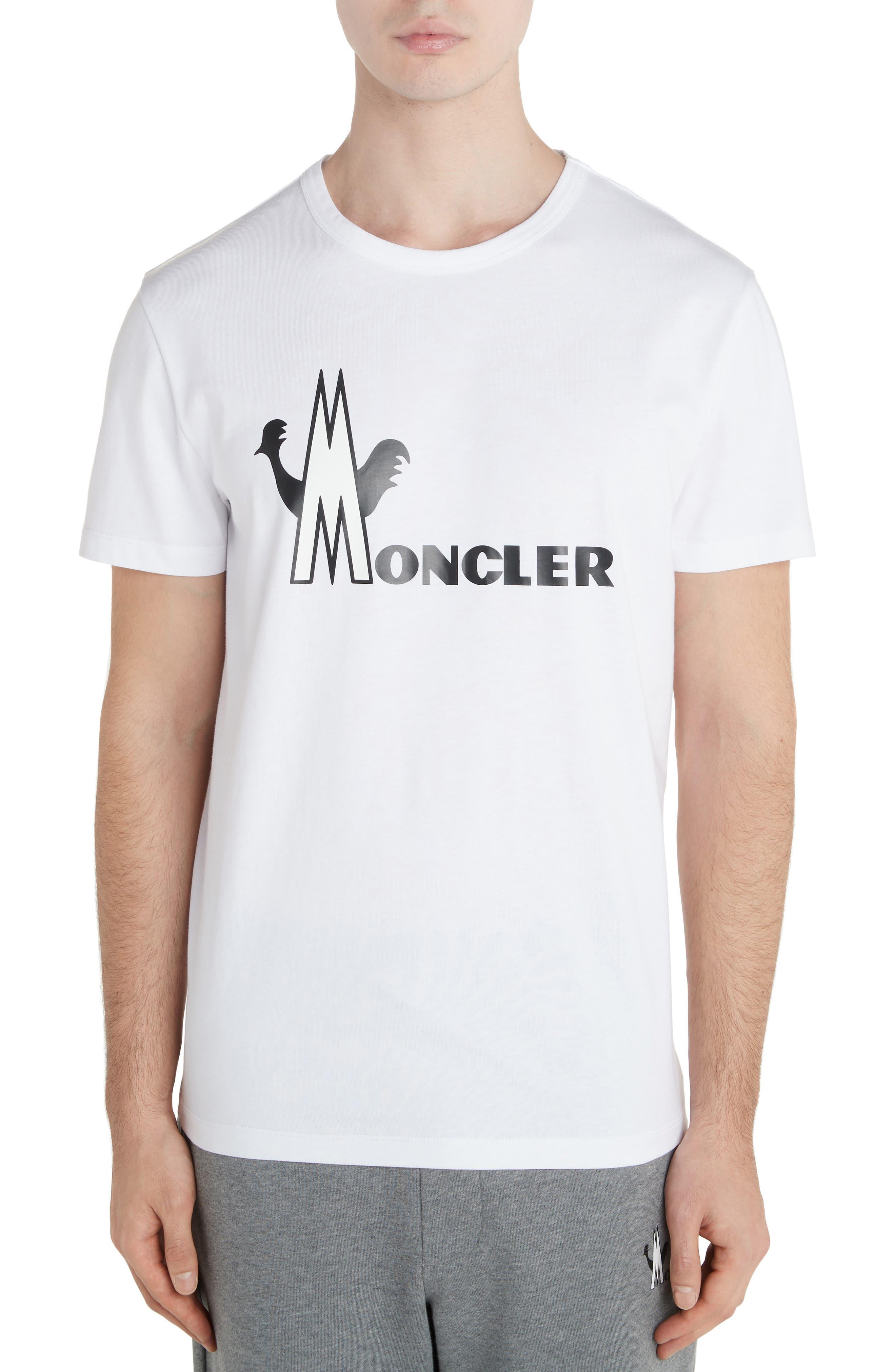 Moncler T-shirts Logo Graphic T-Shirt