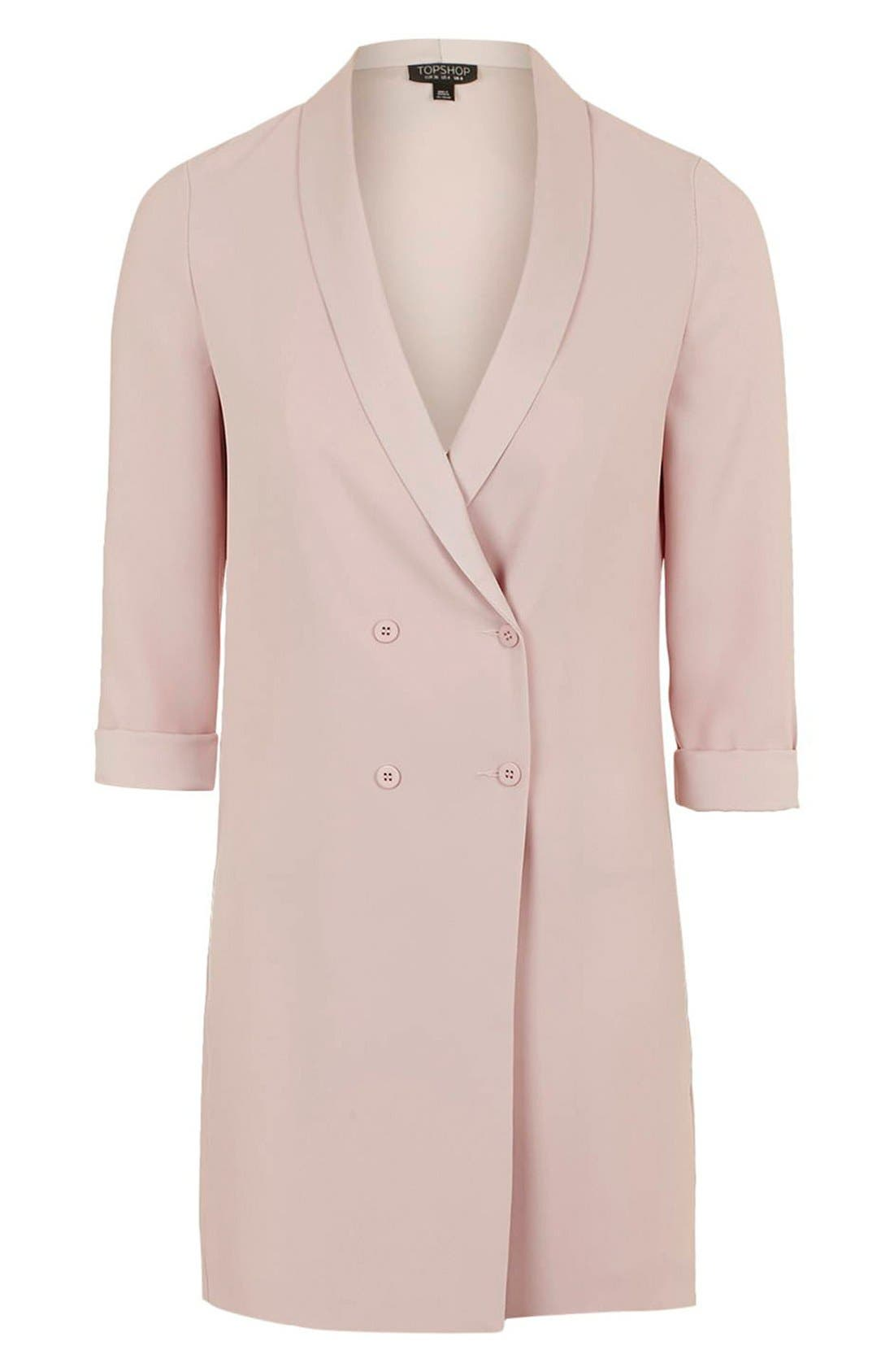 ,                             Slouchy Longline Blazer,                             Alternate thumbnail 9, color,                             650