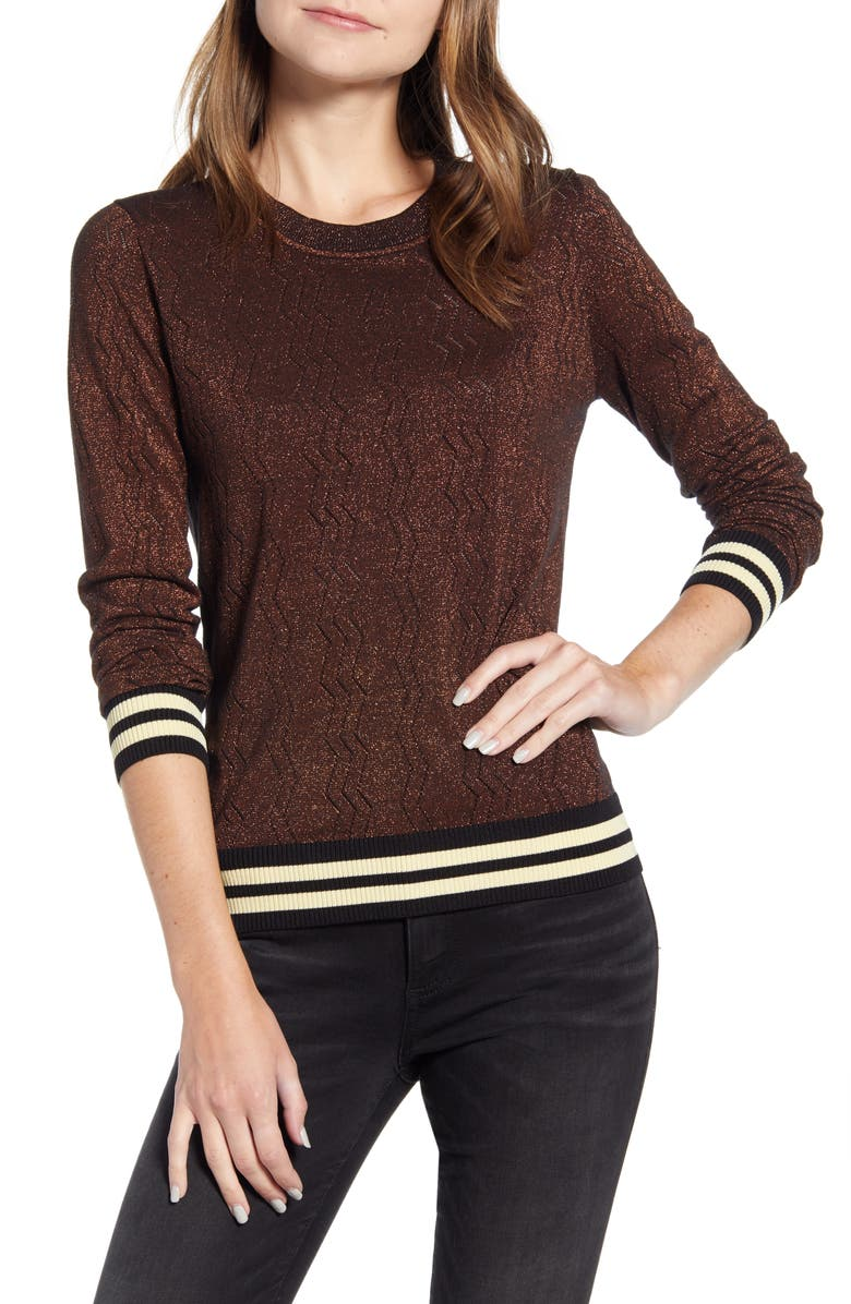 SCOTCH & SODA Stripe Sweater, Main, color, 930