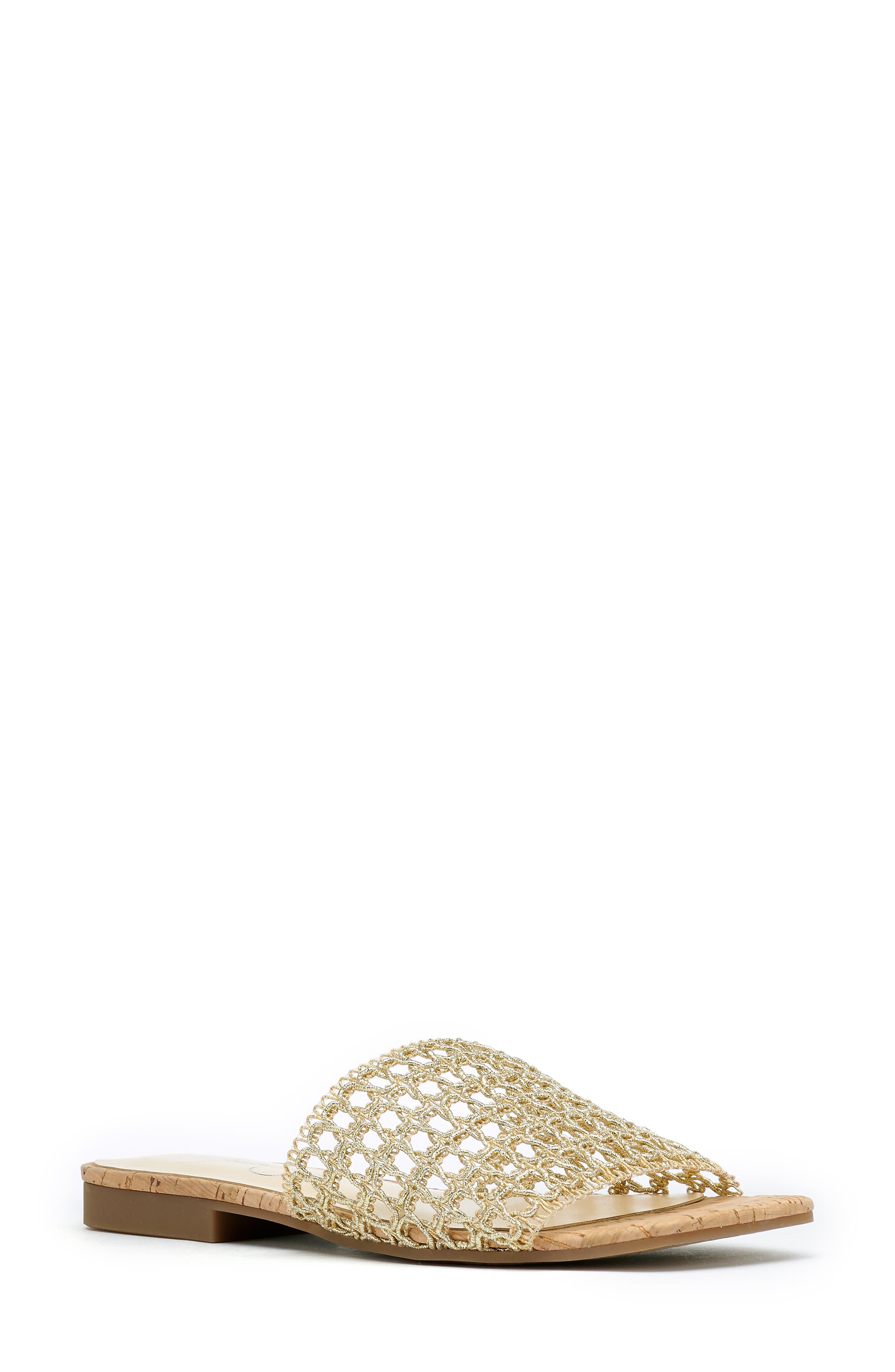 Rilane Woven Slide Sandal