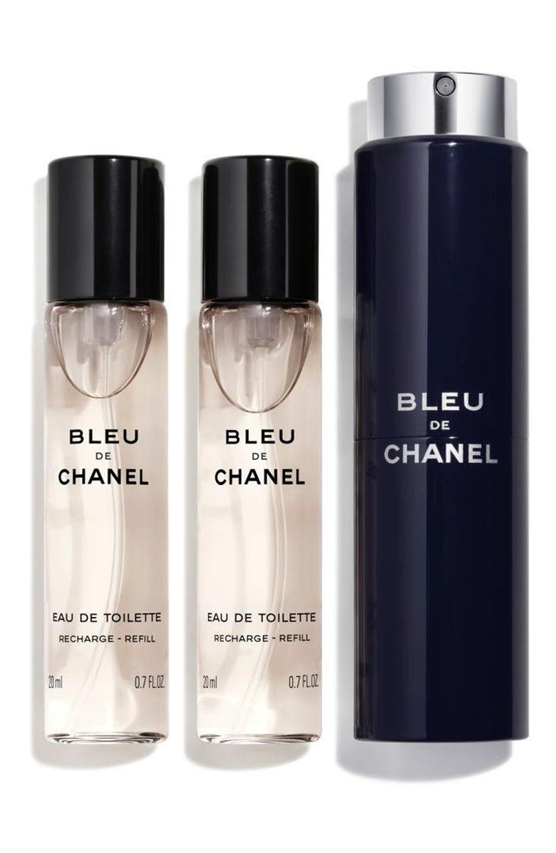 CHANEL BLEU DE CHANEL Eau de Toilette Refillable Travel Spray, Main, color, NO COLOR