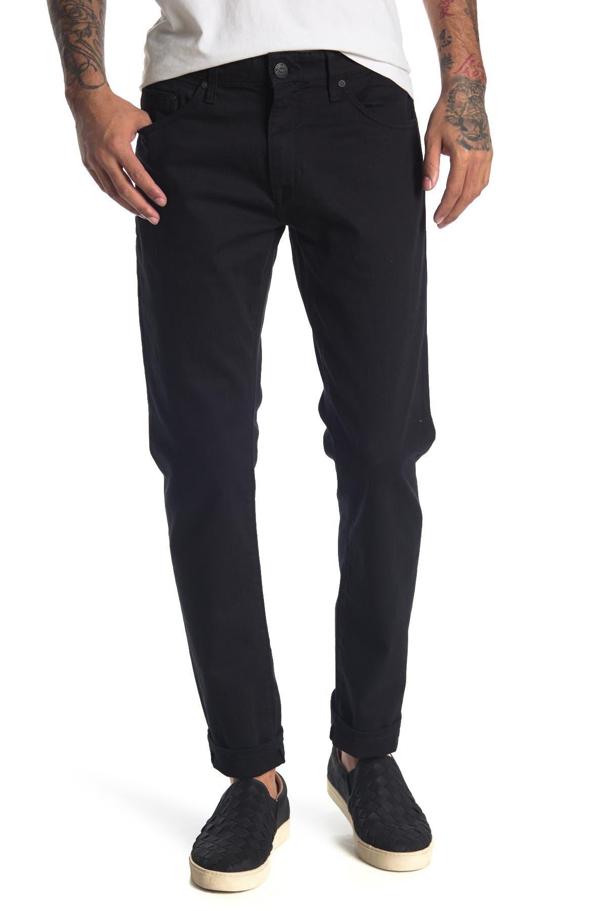Image of Mavi Jake Black Williamsburg Slim Jeans