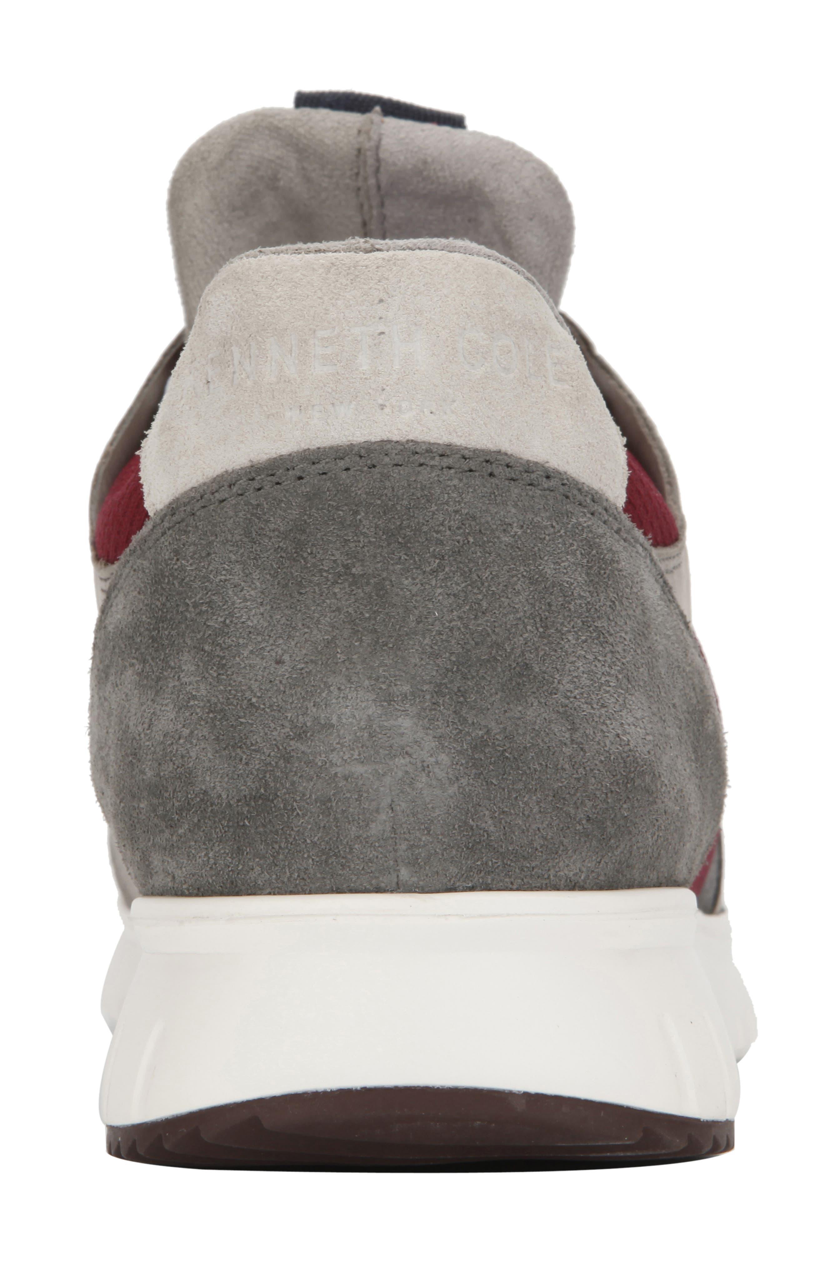 ,                             Bailey Sneaker,                             Alternate thumbnail 5, color,                             BORDEAUX LEATHER