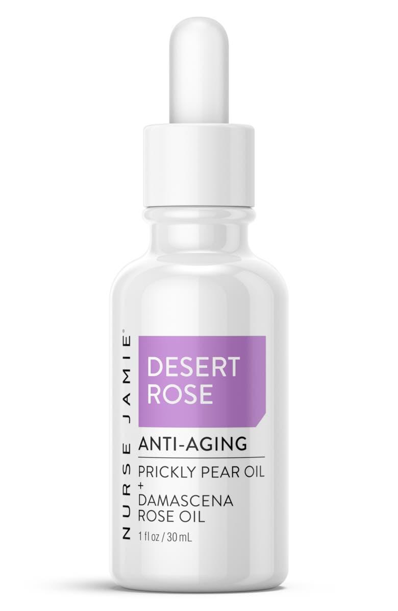 NURSE JAMIE Desert Rose Anti-Aging Face Oil, Main, color, NO COLOR