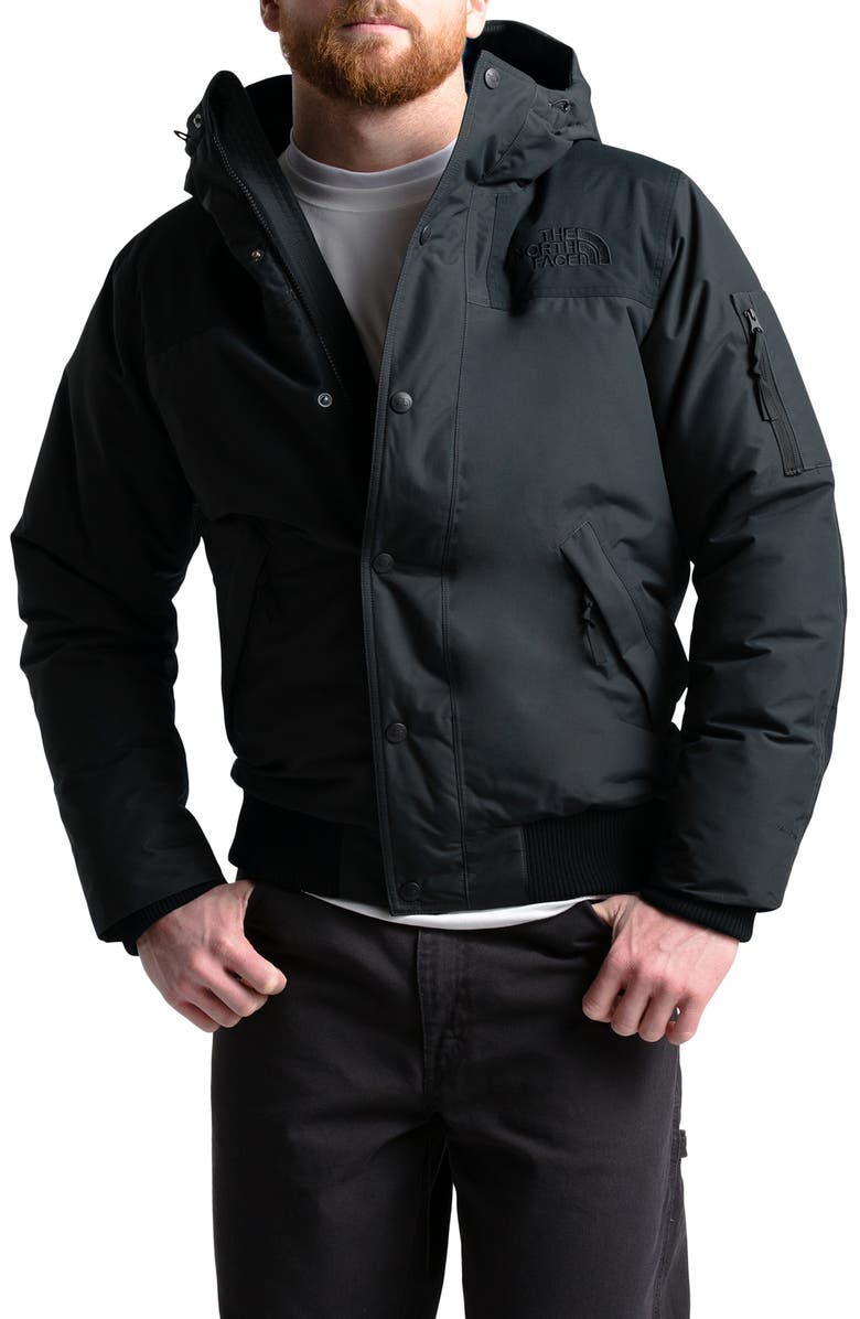THE NORTH FACE Newington Waterproof 550 Fill Power Down Jacket, Main, color, TNF BLACK