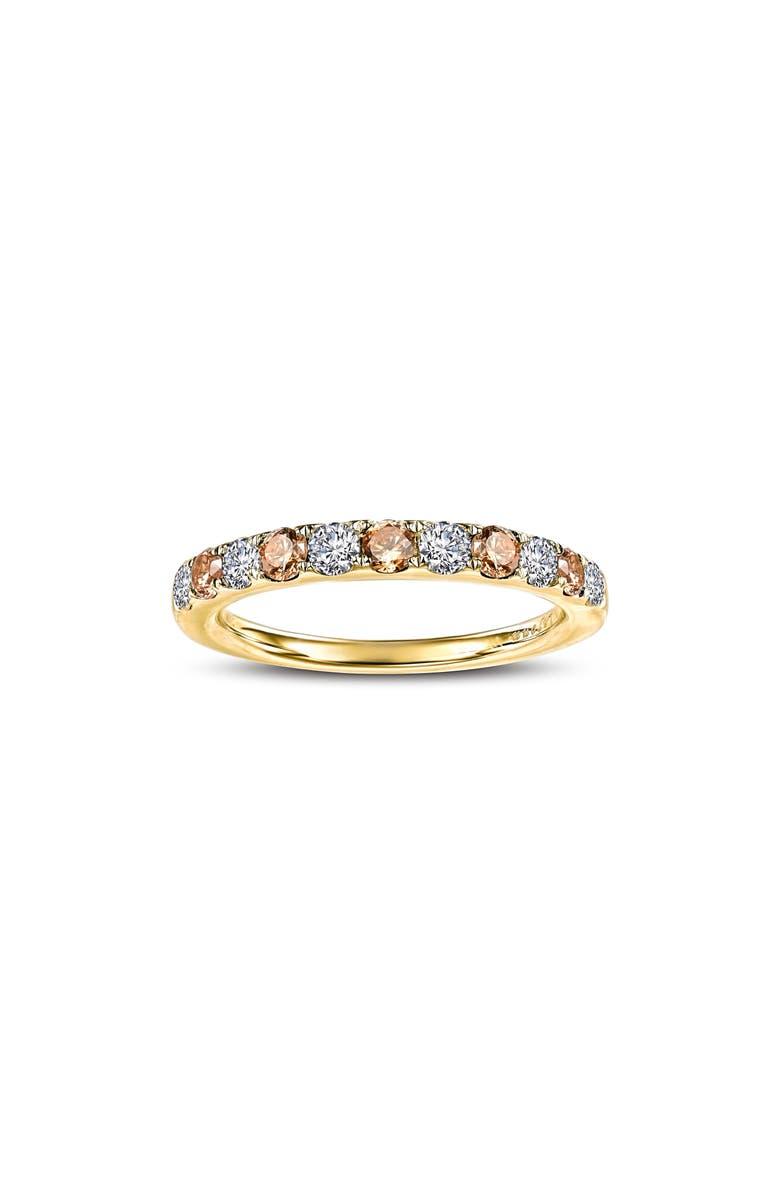 LAFONN Simulated Diamond Birthstone Band Ring, Main, color, NOVEMBER - YELLOW/ GOLD