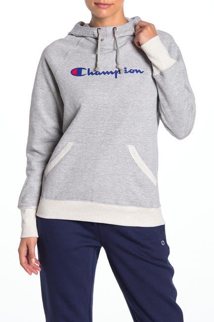 Image of Champion Powerblend Logo Hoodie