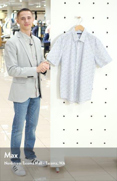 Wilkins Regular Fit Floral Short Sleeve Button-Up Shirt, sales video thumbnail