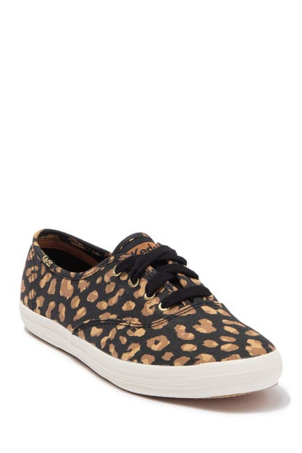 Image of Keds Champion Leopard Print Sneaker