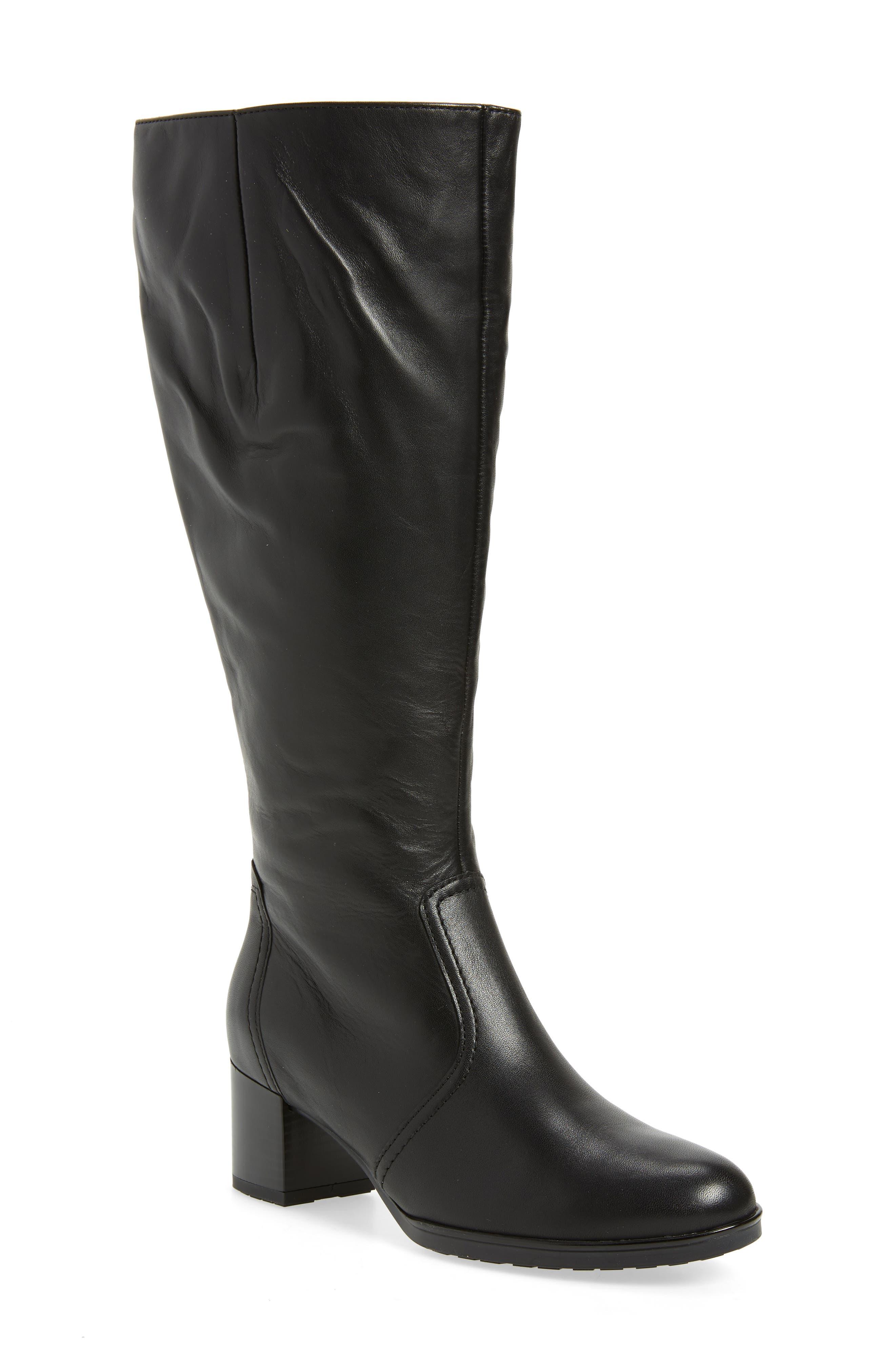 Ara Faye Knee High Boot, Black
