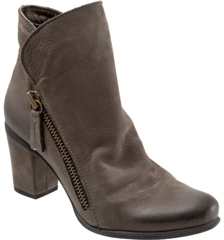 BUENO Yountville Bootie, Main, color, GREY NUBUCK