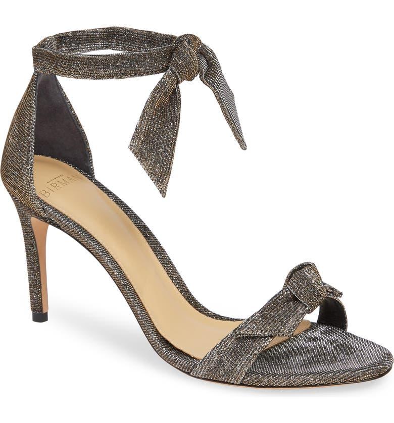 ALEXANDRE BIRMAN Clarita Ankle Strap Sandal, Main, color, SILVER