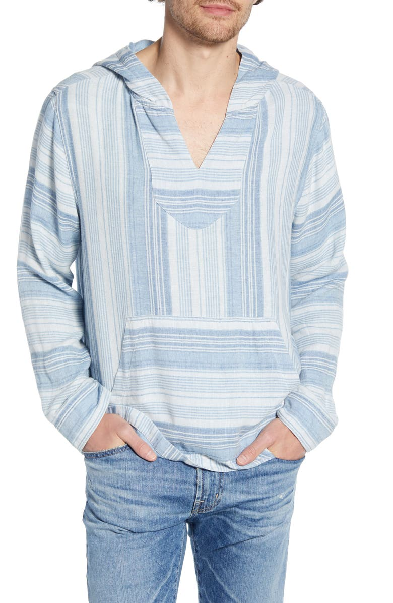 FAHERTY Baja Poncho, Main, color, SUMMER BLUE