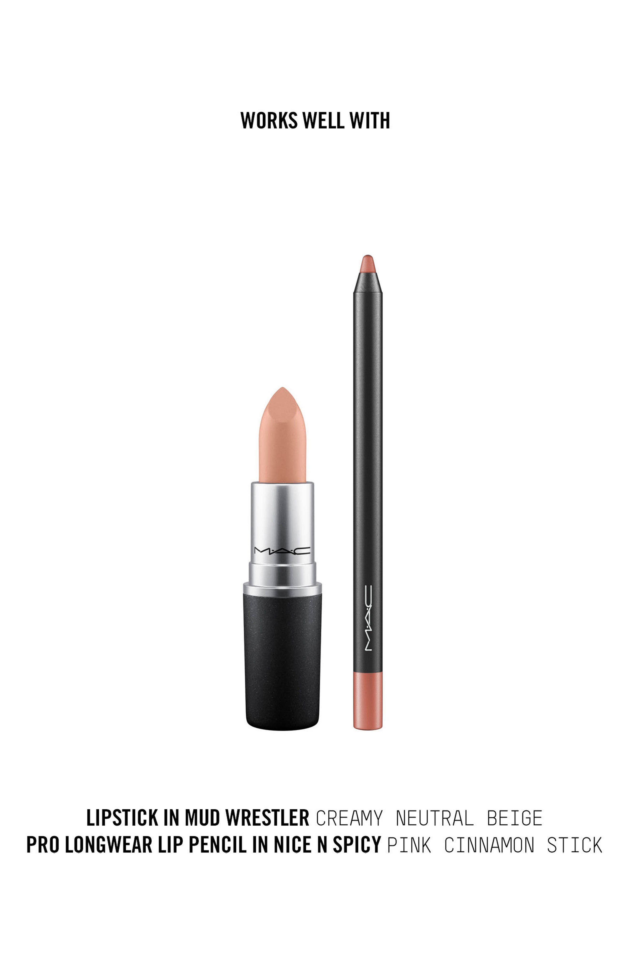,                             MAC Strip Down Nude Lipstick,                             Alternate thumbnail 277, color,                             282