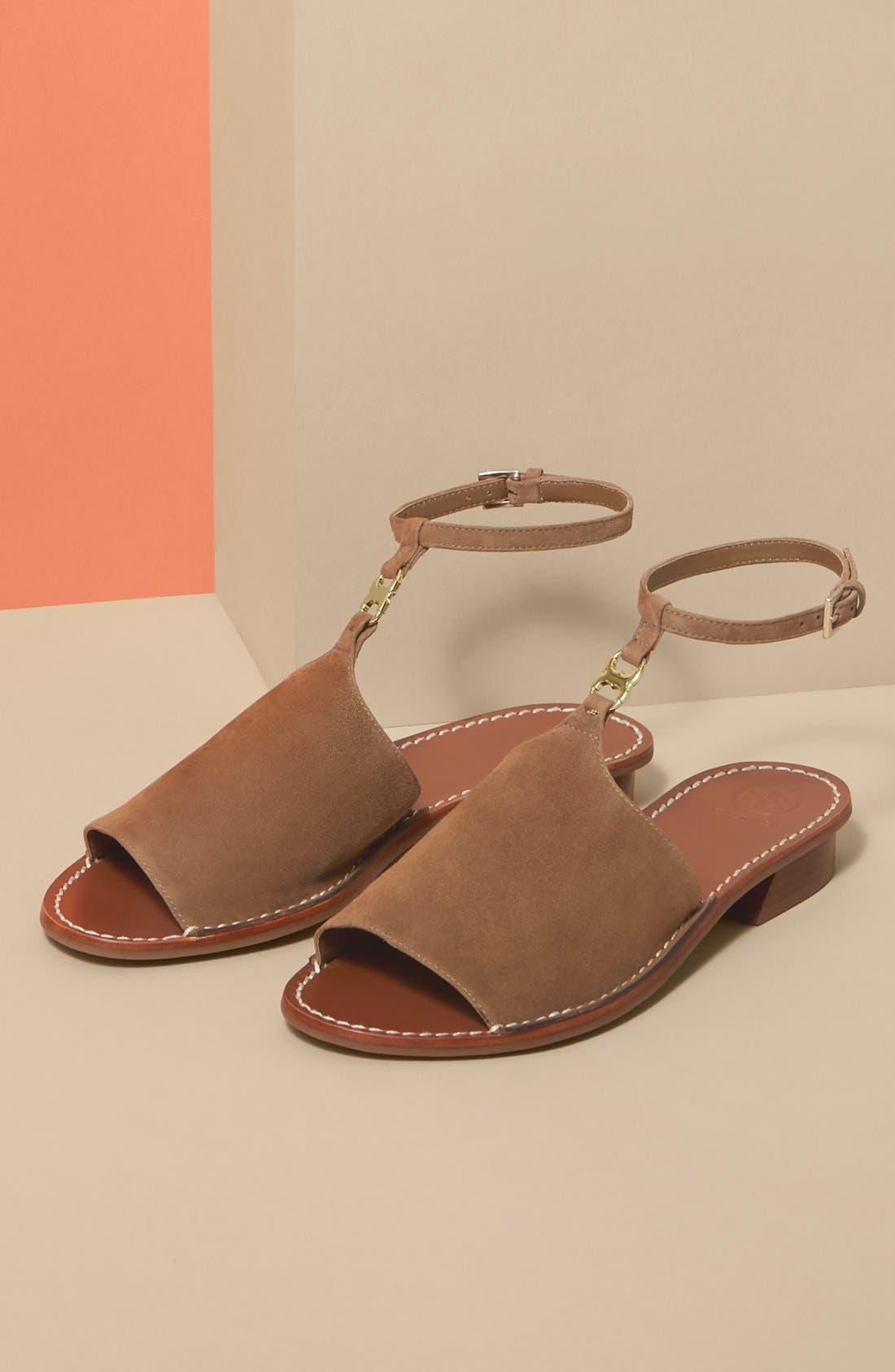 ,                             'Gemini Link' Ankle Strap Sandal,                             Alternate thumbnail 5, color,                             037