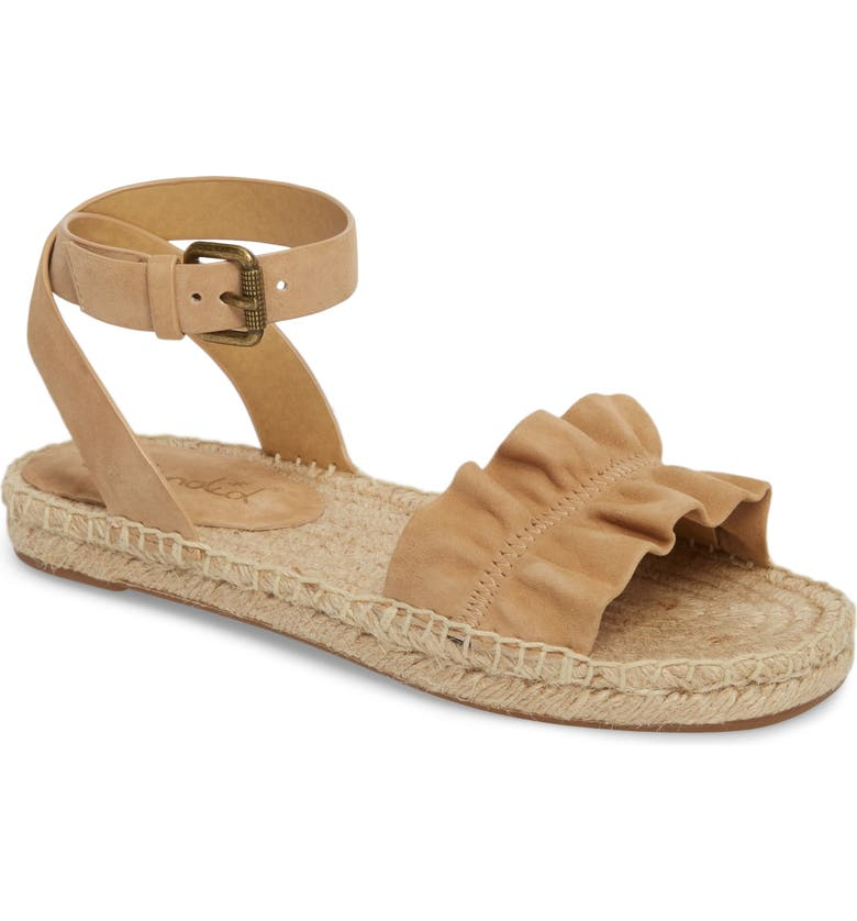 SPLENDID Becca Ruffled Espadrille Sandal, Main, color, 021