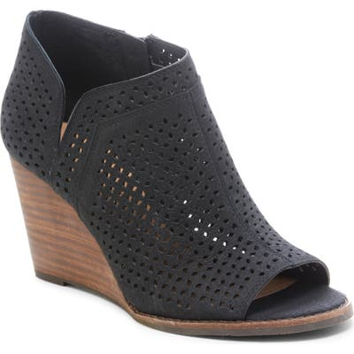 Lucky Brand Jazley Wedge Bootie, Black