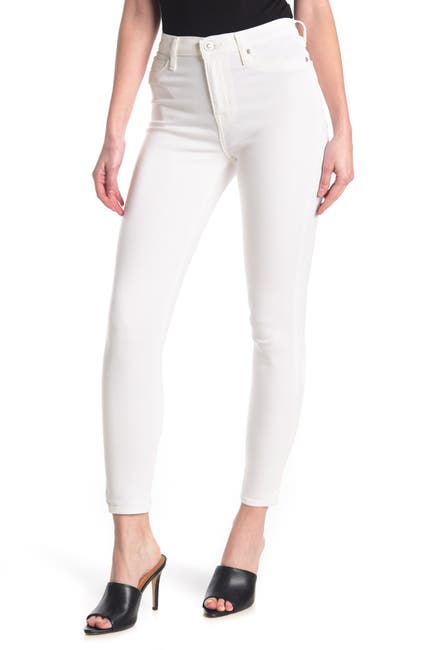 Image of HUDSON Jeans High Rise Blair Ankle Super Skinny Jeans