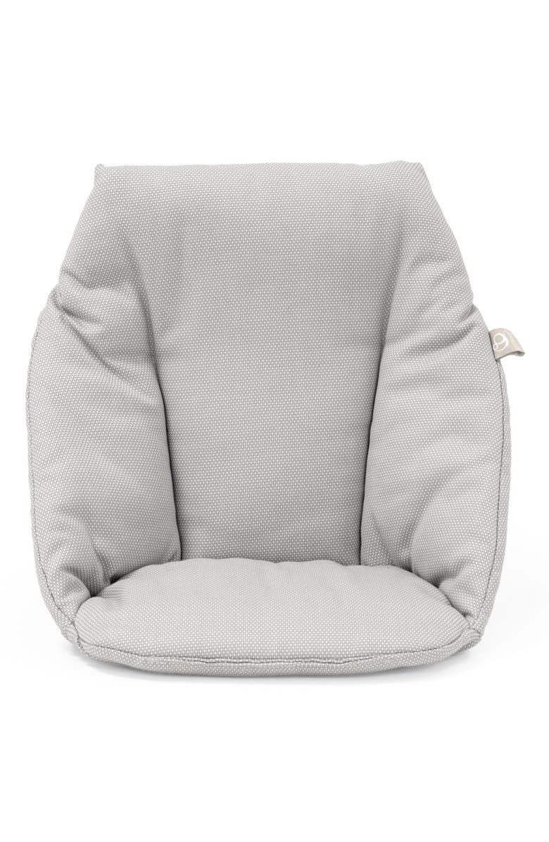 STOKKE <sup>®</sup> Seat Cushion for Tripp Trapp<sup>®</sup> Highchair, Main, color, TIMELESS GREY/ GREY