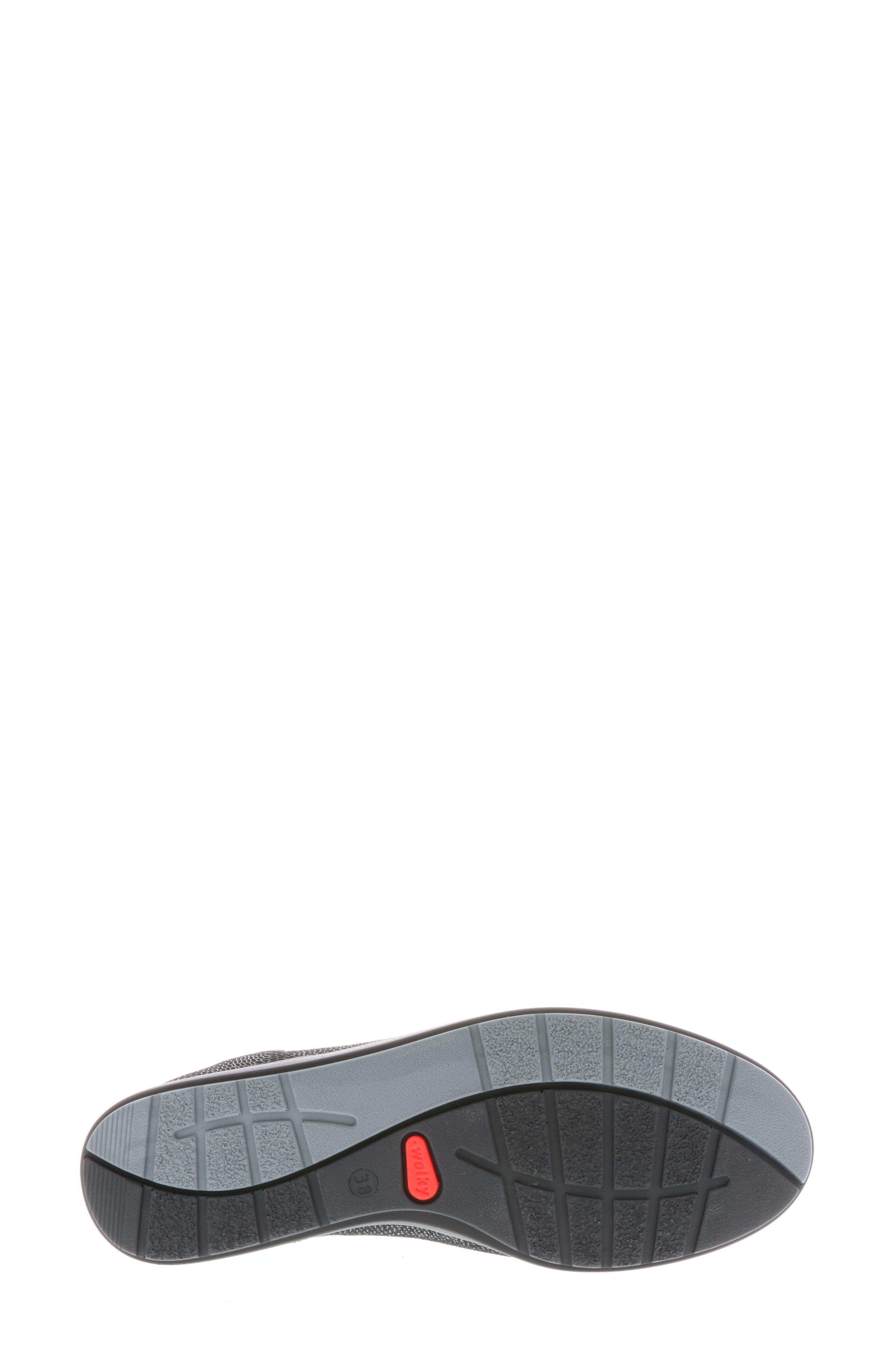 ,                             Kinetic Sneaker,                             Alternate thumbnail 6, color,                             BLACK NUBUCK LEATHER