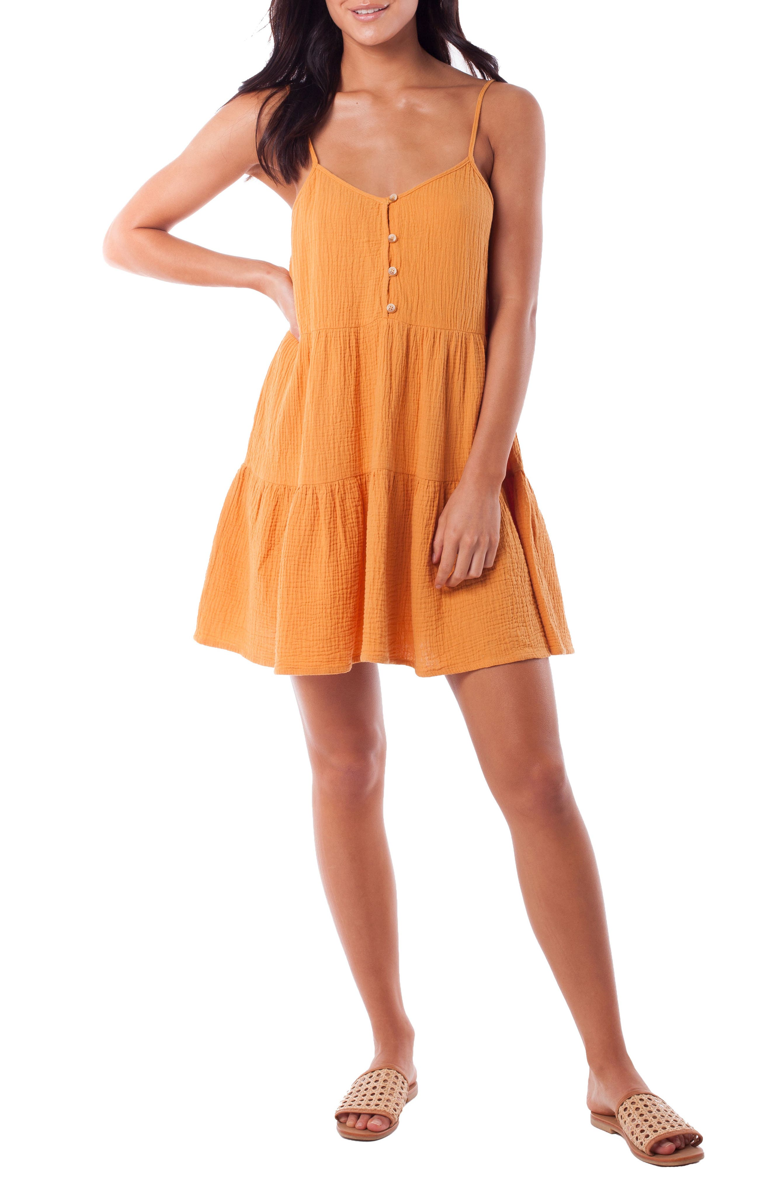 Rhythm Camile Tiered Cover-Up Dress