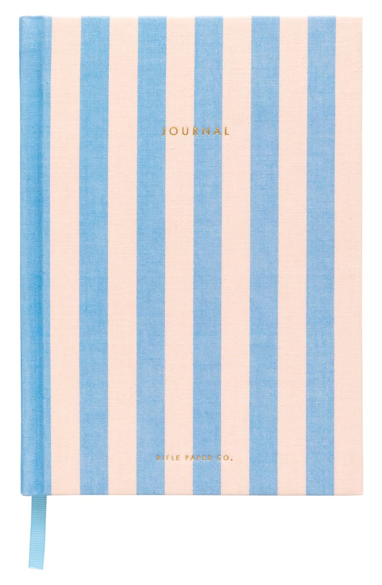 RIFLE PAPER CO. Cabana Fabric Journal, Main, color, PINK