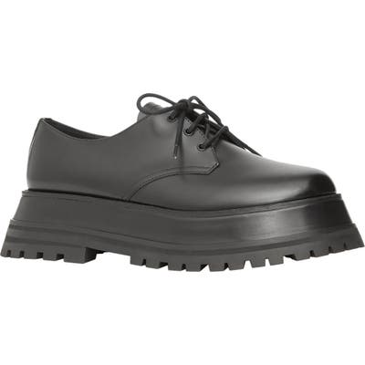 Burberry Platform Derby - Black