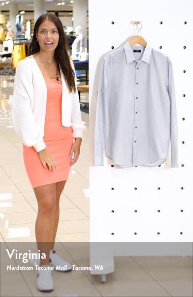 Irving Slim Fit Print Button-Up Shirt, sales video thumbnail