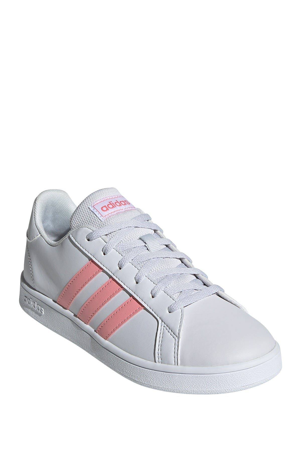 Image of adidas Grand Court K Leather Sneaker