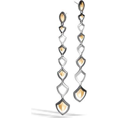 John Hardy Legends Naga Linear Drop Earrings