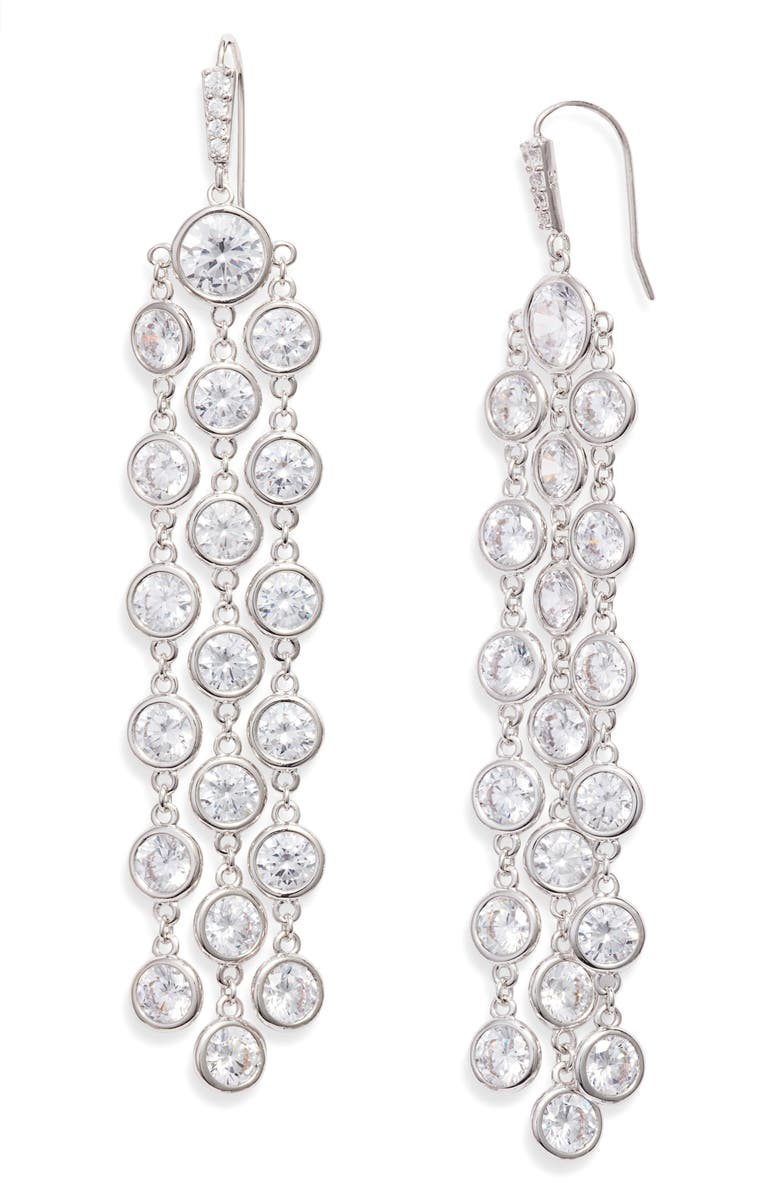 KENDRA SCOTT Daya Waterfall Earrings, Main, color, 040