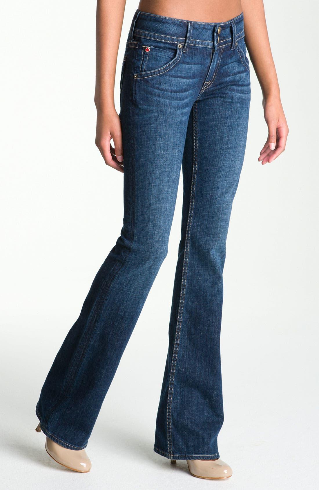 ,                             Signature Flap Pocket Bootcut Jeans,                             Main thumbnail 22, color,                             401
